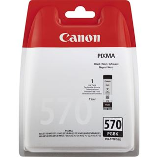 Canon Original Tintenpatrone PGI-570PGBK schwarz 300 Seiten15ml