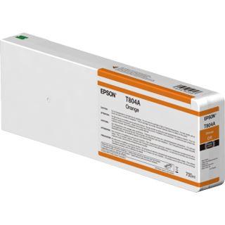 Epson T804A00 Tintenpatrone orange 700ml (C13T804A00)