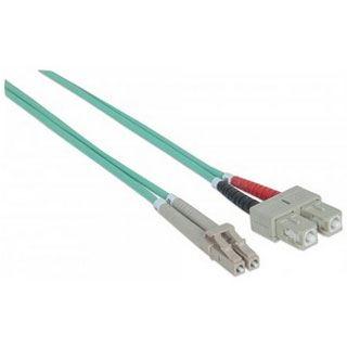 (€1,29*/1m) 10.00m Intellinet LWL Duplex Anschlusskabel 50/125