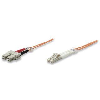 (€0,65*/1m) 20.00m Intellinet LWL Duplex Anschlusskabel 62,5/125