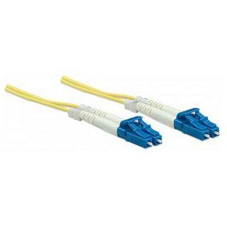 (€0,99*/1m) 10.00m Intellinet LWL Duplex Anschlusskabel 9/125