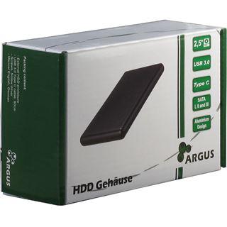 "Inter-Tech GD-25613-S3 2.5"" (6,35cm) USB 3.0 Typ C schwarz"