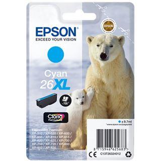 Epson Tinte 26 XL C13T26324012 cyan