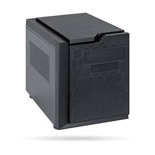 Chieftec Gaming Cube Wuerfel ohne Netzteil grau