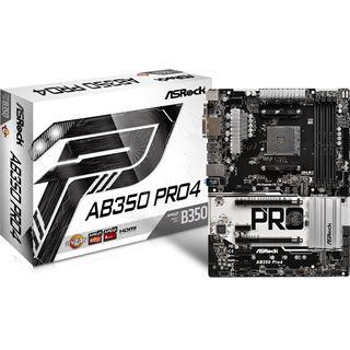 ASRock AB350 Pro4 AMD B350 So.AM4 Dual Channel DDR4 ATX Retail