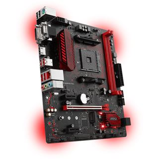 MSI B350M GAMING PRO AMD B350 So.AM4 Dual Channel DDR4 mATX Retail