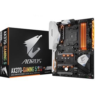 Gigabyte AORUS GA-AX370-Gaming 5 AMD X370 So.AM4 Dual Channel DDR4