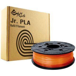 DaVinci Filamentcassette claer Tangerine PLA für 3D Drucker NFC