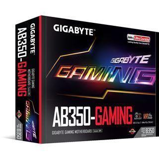 Gigabyte GA-AB350-Gaming AMD B350 So.AM4 Dual Channel DDR4 ATX Retail