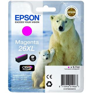 Epson Tinte 26 XL C13T26334022 magenta