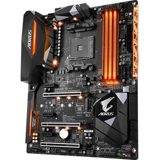 Gigabyte AORUS GA-AX370-Gaming K7 AMD X370 So.AM4 Dual Channel DDR4