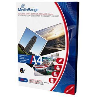 MediaRange Fotopapier A4 200gr weiß