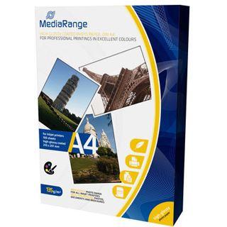 MediaRange Fotopapier A4 135gr weiß