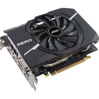 8GB MSI GeForce GTX 1070 AERO ITX 8G OC Aktiv PCIe 3.0 x16 (Retail)
