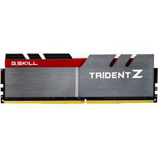 32GB G.Skill Trident Z silber/rot DDR4-3466 DIMM CL16 Quad Kit