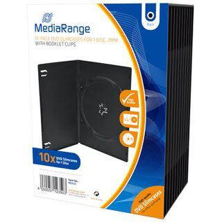 MediaRange DVD Leerbox 10pcs Single Slim schwarz