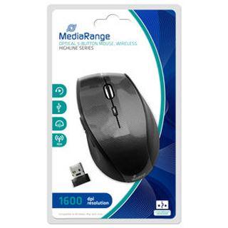 MediaRange Highline MROS207 USB schwarz (kabellos)