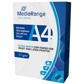 MediaRange Drucker Papier DIN A4 80g 500 Blatt Kopierpapier