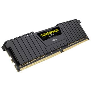 16GB Corsair Vengeance LPX Ryzen schwarz DDR4-2400 DIMM CL16 Dual Kit