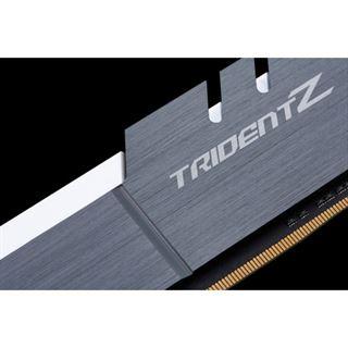16GB G.Skill Trident Z silber/weiß DDR4-4000 DIMM CL18 Dual Kit