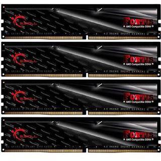 64GB G.Skill Fortis schwarz DDR4-2133 DIMM CL15 Quad Kit
