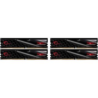 32GB G.Skill Fortis schwarz DDR4-2400 DIMM CL15 Quad Kit
