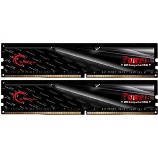 32GB G.Skill Fortis schwarz DDR4-2400 DIMM CL15 Dual Kit
