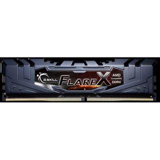 32GB G.Skill Flare X für AMD schwarz DDR4-2400 DIMM CL16 Quad Kit