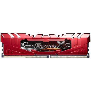 16GB G.Skill Flare X rot DDR4-2400 DIMM CL15 Dual Kit