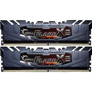 32GB G.Skill Flare X für AMD schwarz DDR4-2400 DIMM CL15 Dual Kit