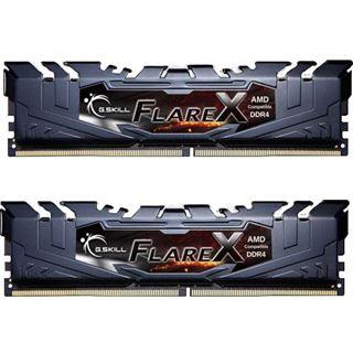 16GB G.Skill Flare X schwarz DDR4-3200 DIMM CL14 Dual Kit