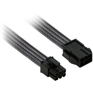 Nanoxia 6er PCI-E Verlängerung 30 cm carbon