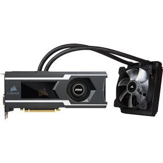 11GB MSI GeForce GTX 1080 Ti SEA HAWK X Hybrid PCIe 3.0 x16 (Retail)