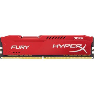 32GB HyperX FURY rot DDR4-2400 DIMM CL15 Dual Kit