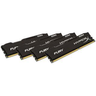 64GB HyperX FURY schwarz DDR4-2666 DIMM CL16 Quad Kit