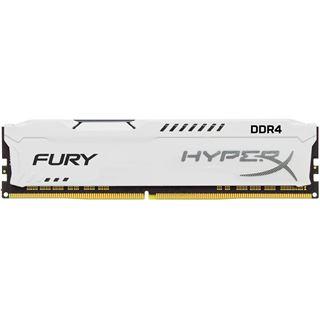 64GB HyperX FURY weiß DDR4-2400 DIMM CL15 Quad Kit