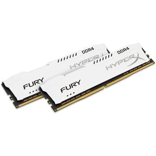 32GB HyperX FURY weiß DDR4-2400 DIMM CL15 Dual Kit
