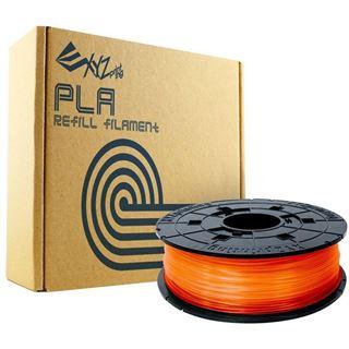 DaVinci Filamentcassette Clear Tangerine Refill PLA für da Vinci