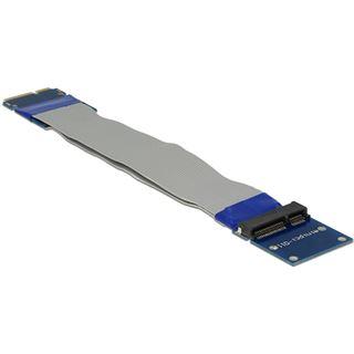 Delock Mini PCI Expr Card Verl. mSATA ->Slot Riser Karte