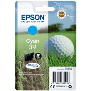 Epson Tinte T3463 cyan 4.2ml