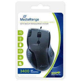 MediaRange MROS206 USB grau (kabelgebunden)