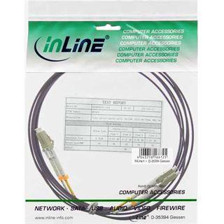 (€1,18*/1m) 50.00m InLine LWL Duplex Anschlusskabel 50/125