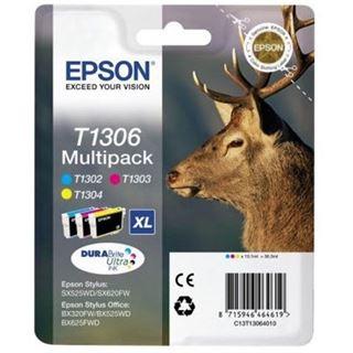 Epson Tinte T1306 C13T13064022 cyan, magenta, gelb