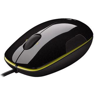 Logitech M150 USB schwarz/gelb (kabelgebunden)