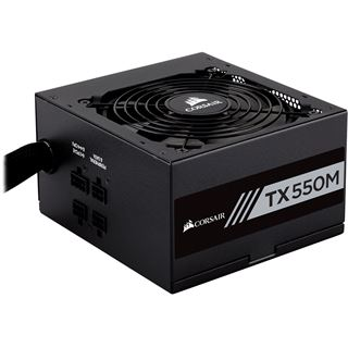 550 Watt Corsair TX-M Series TX550M Modular 80+ Gold