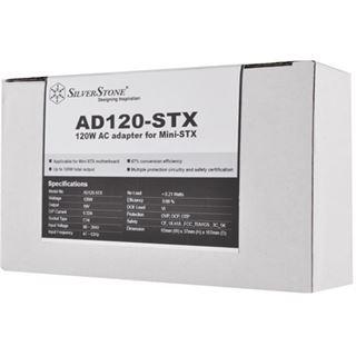 120 Watt Silverstone externes Netzteil für Mini-STX Systeme 19V