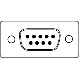 (€2,30*/1m) 3.00m Digitus Seriell Anschlusskabel D-Sub 9pol