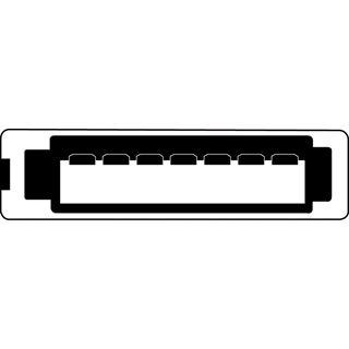 (€7,80*/1m) 0.50m Digitus SATA Anschlusskabel SATA Stecker auf