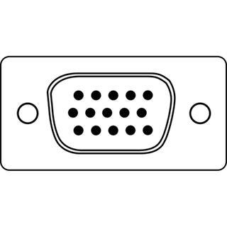 5.00m Digitus VGA Anschlusskabel doppelt geschirmt VGA 15pol Stecker