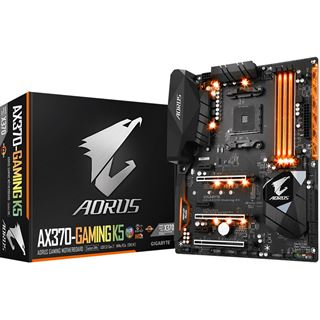 Gigabyte Aorus GA-AX370-Gaming K5 AMD X370 So.AM4 Dual Channel DDR4